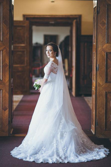 fotenie svadby portrét